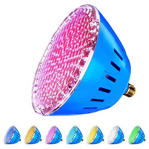 LAMPAOUS RGB Multicolor LED Pool Light 120V - 35W