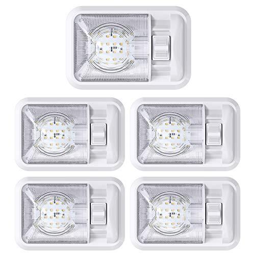 Leisure LED 5 Pack 12V Led RV Ceiling...