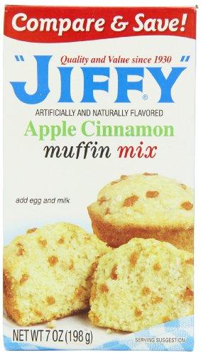 Jiffy Muffin Mix di mele cannella 198 g (confezione da 5)