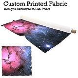 Galaxy 6Design Digital Print Stoff gewebt Chiffon