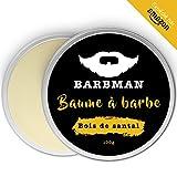 BARBMAN : Baume à Barbe (100ml) enrichi en huile de Jojoba et beurre de cacao pour...