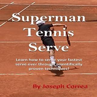 Superman Tennis Serve audiobook cover art