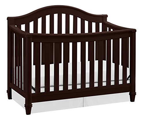For Sale! Thomasville Kids Auburn 4-in-1 Convertible Crib - White, Fixed Side Crib, Solid Pine and W...