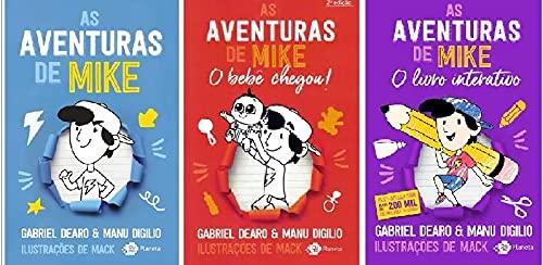 Kit Aventuras De Mike (coleção Completa - 3 Volumes)