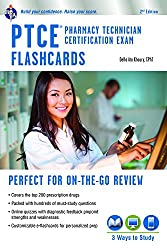 top 10 top maths books PTCE – Pharmacy Technician Certification Exam Flashcard + Online (Index Card)