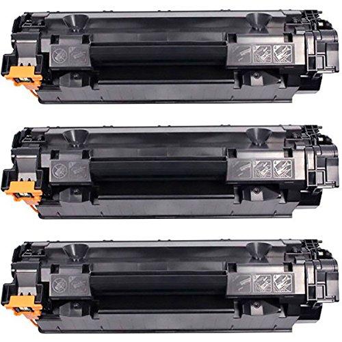 Kit 3x Toner Compatível CB435A CB436A CE285A para HP Laserjet P1102W P1005 P1109W P1006 P1505 M1132 M1212 M1120 P1102 P1109 1102W 1109W 1132