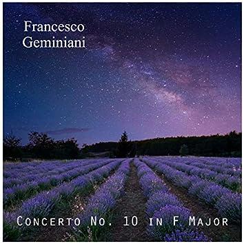 Concerto No. 10 in F Major