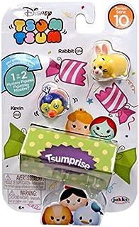 Disney Tsum Tsum Series 10 Rabbit & Kevin 1-Inch Minifigure 3-Pack