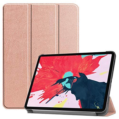 BlinkCat iPad Pro 11 2020 - Funda para iPad Pro de 11 pulgadas (2ª generación), diseño de múltiples ángulos de visión inteligente de piel sintética, función de encendido y apagado automático, compatible con lápiz y carga