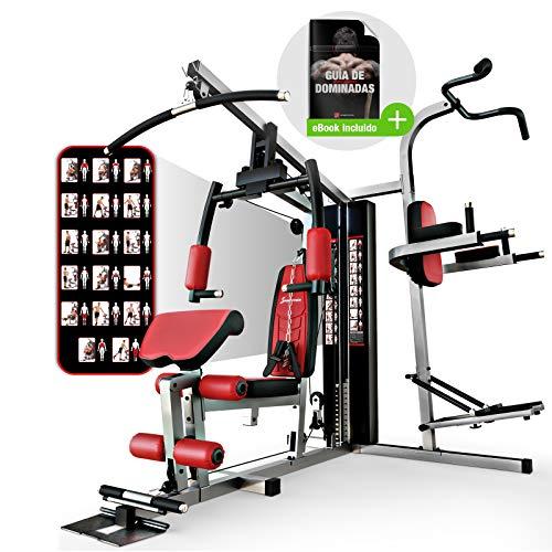 Power Rack Kraftstation Squat Multi Rack Klimmzugstange Fitness Station Home Gym