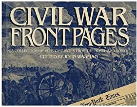 Civil War Front Pages