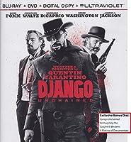 Django Unchained Blu-Ray DVD Combo Pack with Exclusive Bonus Disc