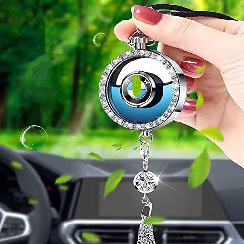 Kaylos Désodorisant pour rétroviseur, diffuseur de parfum avec logo de voiture