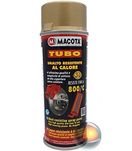 Macota - Spray anticalore, 800 ºC, colore: oro, metallico, satinato