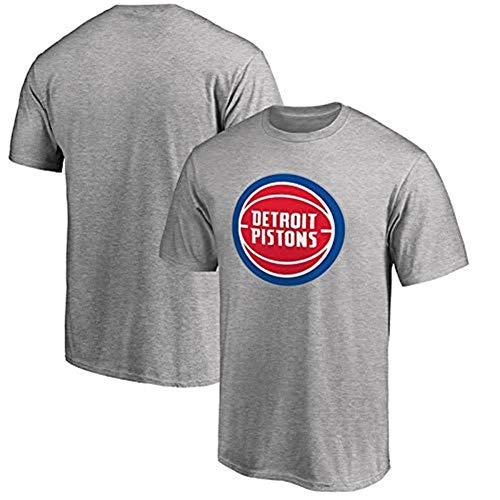 GJM Camiseta de Verano Camiseta Deportiva de Mangas Cortas de Baloncesto de Verano de la NBA Camiseta para Hombres y Mujeres Estudiantes Camiseta de Media Manga Suelta Ropa Deportiva
