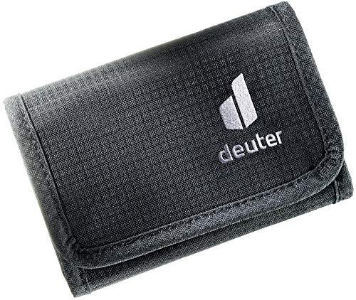 deuter Unisex– Erwachsene Travel Wallet RFID BLOCK Geldbeutel, black, One Size