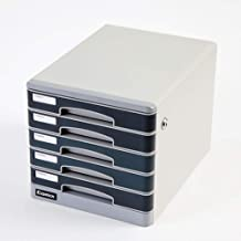 Asdfnfa File cabinets Metal File Cabinet Data Cabinet Five-Layer Drawer Type Lock Information Cabinet A4 Information Office
