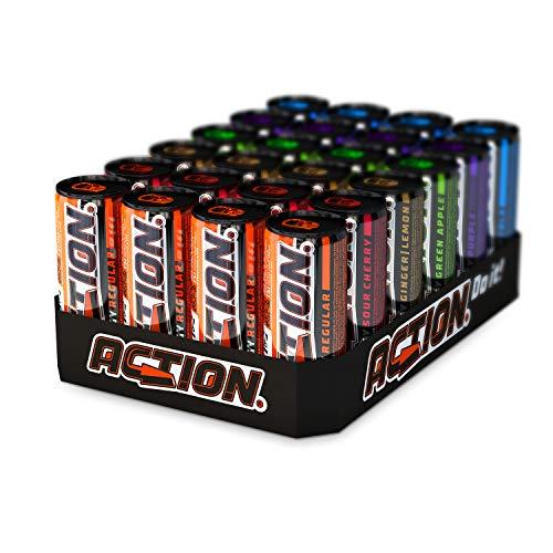 ACTION Energy Drink 6er Mix EINWEG, 24 x 250 ml, inkl. Pfand