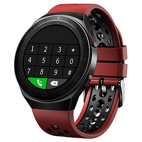 FZXL MT-3 8G Memory Music Watch Smart Watch Hombres Bluetooth Llamada Pantalla táctil Completa Impermeable SmartWatch Grabación Función Deportes Pulsera,A