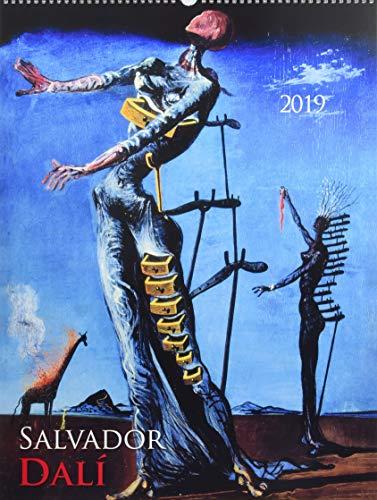 Salvador Dali 2019 - Bildkalender (42 x 56) - Kunstkalender