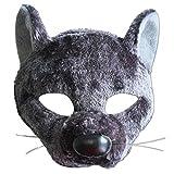 Bristol Novelty EM454 Rattenaugenmaske mit Ton am Stirnband Augenmaske, Mehrfarben, Einheitsgröße