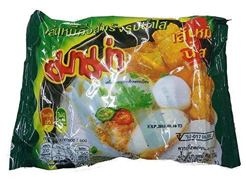 センミ— ナムサイ ライスヌードル ( ビーフン 極細麺 55g×30袋入) <クリアスープ>SEN MEE NAM SAI タイ 袋ラーメン