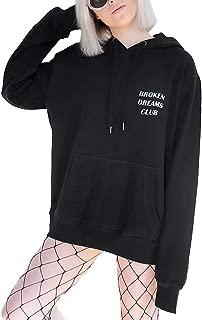 broken dreams club hoodie black