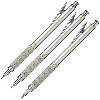 Pentel Graphgear 1000 Drafting Pencil PG1019 0.9 mm  Set of 3 pens