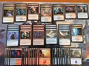 Izzet Counter/Burn Deck - Blue Red - Modern Legal - Custom Built - Magic The Gathering - MTG - 60 Card