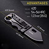Small Wallet Clip - Mini Tactical Knife with Money Clip - Cool Dragon