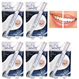 5 Pack Instant Teeth Whitening Pen Professional Strength Cleaning Dental Gel Lot