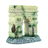 XIUXIU RainYun Antigua Columna Romana Arco Aquarium Fish Tank Landscaping Decoration Vintage