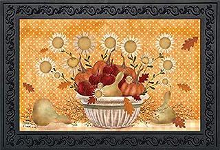 """Briarwood Lane Harvest Bounty Autumn Doormat Sunflowers Fall Primitive Indoor/Outdoor 18""""x30"""""""