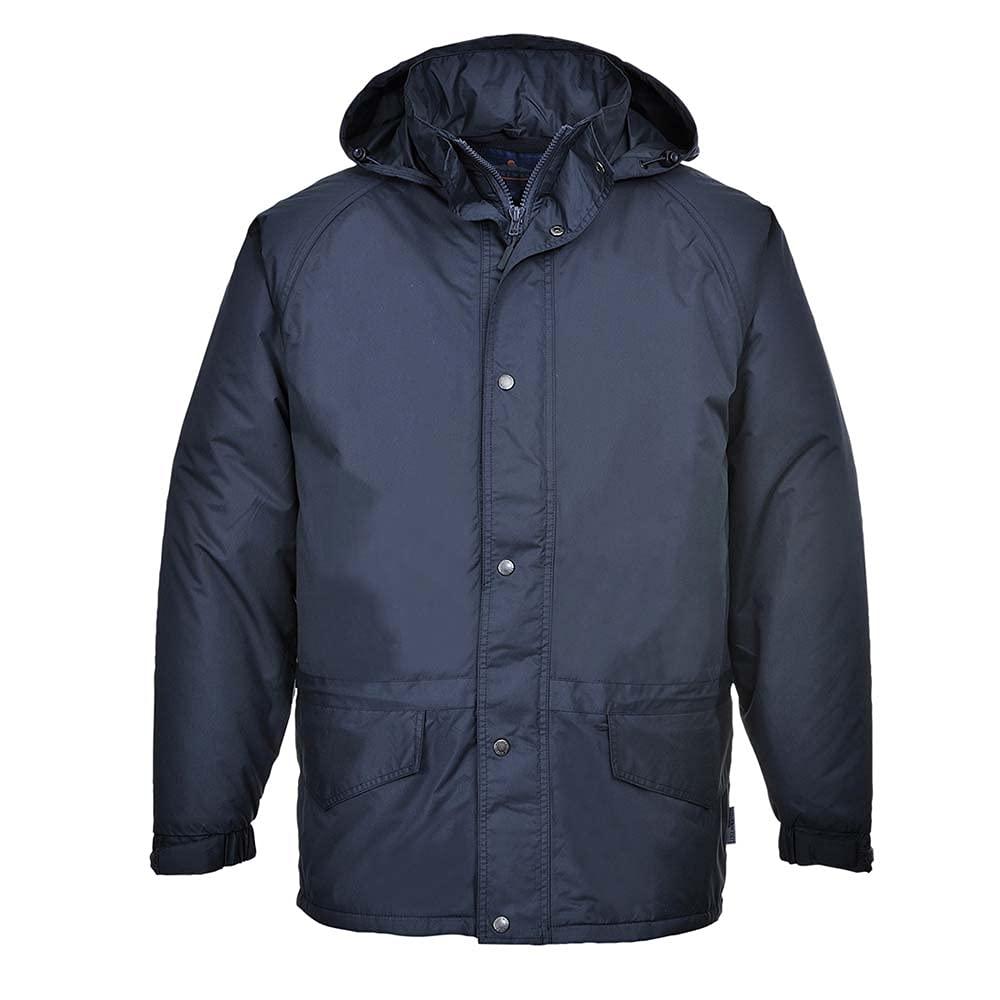Portwest Workwear Mens Arbroath Jacket Navy XSmall