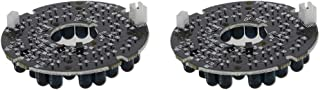 Othmro 36 LEDs IR Infrared Board 120 Degrees Round Plate Illuminator Board Bulb for CCTV Security Camera 2pcs