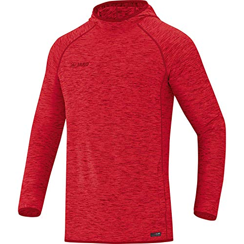 Jako Active Basics Sweat à Capuche Unisexe pour Enfant XS Rouge chiné