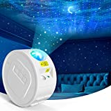 INPHER Proyector LED de Estrellas,Proyector Luna Estrella y Onda de Agua Lámpara de Proyector de Luz Nocturna,Lámpara Decoración para Fiestas Adecuado para Bebe y Niños