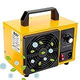 O3 Premium Plus - Generador de ozono Industrial 36,000mg / HR 220v, Limpiador de ozono, Dispositivo de ozono para Habitaciones, Humo, Coches y Mascotas.Tecnologia Honey-Comb-Tec© (36,000mg/h Prime)