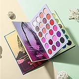 Beauty Glazed Paleta de sombras de ojos de 72 colores Alta pigmentación Impermeable Fáci...