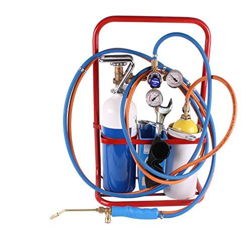 Lötfreund HARTLÖT- UND KLEINSCHWEISSGERÄT ECO mit 2L Sauerstoffflasche 3m Schlauch