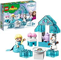 LEGO DUPLO Disney Frozen Toy Featuring Elsa and Olaf's Tea Party 10920 Disney Frozen Gift for Kids and Toddlers, New...