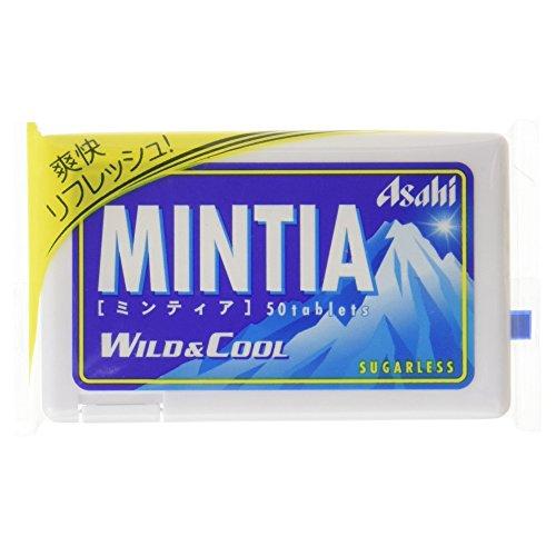 アサヒグループ食品 ミンティア ワイルド&クール 50粒入