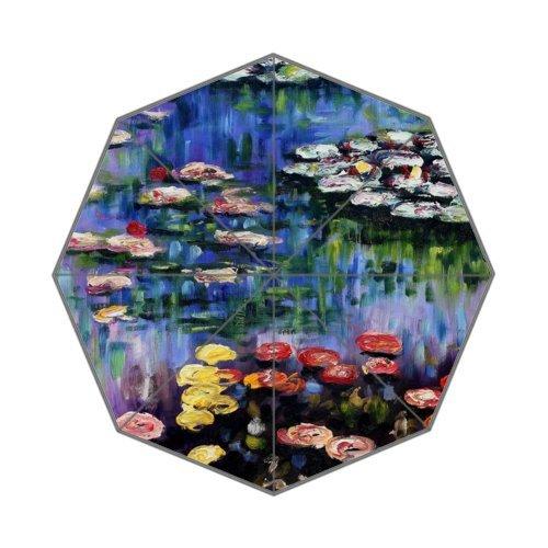 Claude Monet Beste vrienden/zuster/broodhers-geschenken, 100% stof en aluminium, opvouwbaar, hoogwaardige paraplu