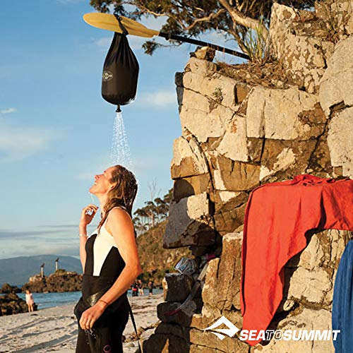 Sea to Summit Lightweight Pocket Shower for Camping and Travel