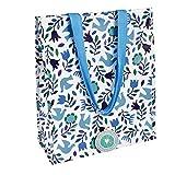 Rex London - Einkaufstasche, Shopper, Bag - Folk Doves - Folkore Tauben - 28230 - aus 90% recycltem Palstikflaschen