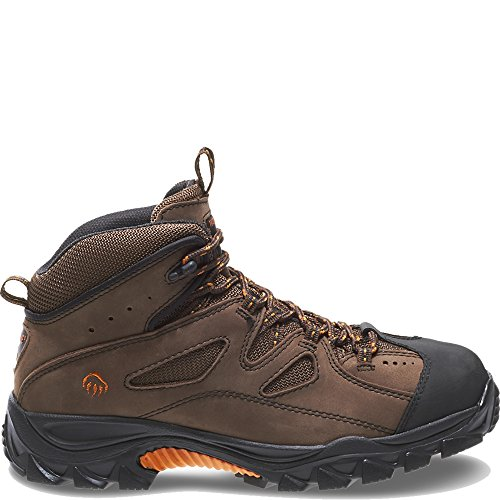 Wolverine Men's W02194 Hudson Boot, Brown/Black, 11 M US