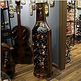 LXYPLM-WR1 Botelleros Estante Vino Estante de Madera for vinos Estante de...