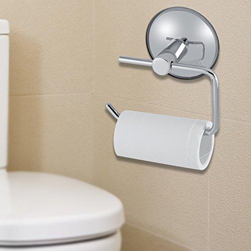 RVS zuignap toiletrolhouder krachtige keukenrolhouder handdoekhouder voor thuis en badkamer