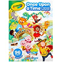 Crayola Fairy Tale Coloring Book with Stickers