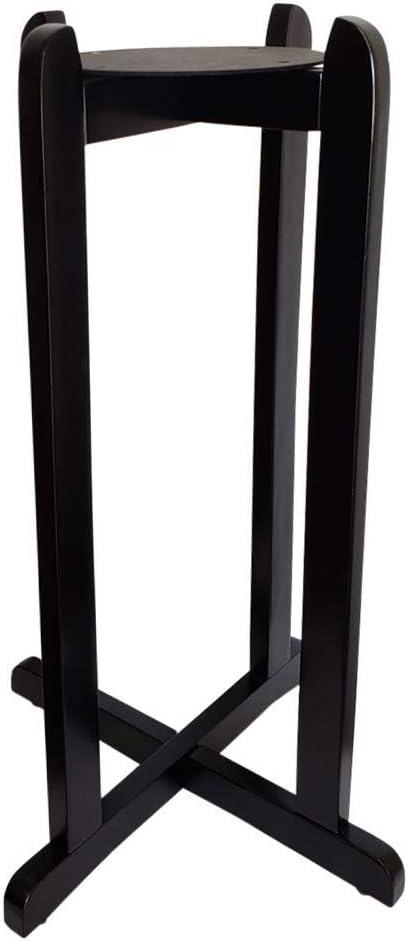 Aquanation Floor Wood Stand Black Finish, 27